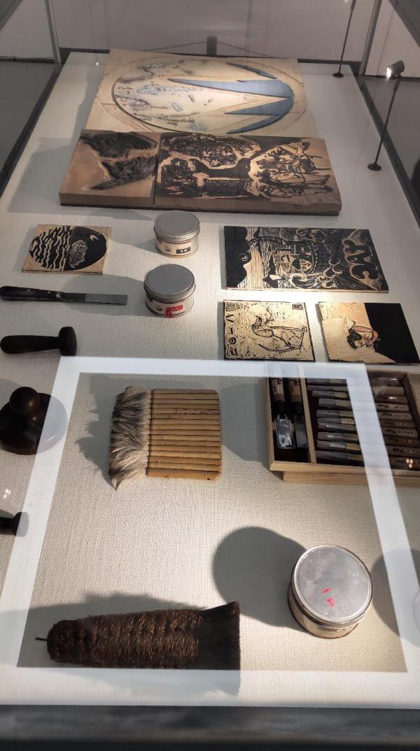 第二届滨海国际版画创作营作品展在津开展